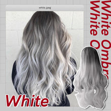 Load image into Gallery viewer, The Hairdrobe™ Ombre Dark Root Wig
