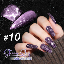 Load image into Gallery viewer, Dazzling Starry Sky Nail Polish
