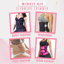 Load image into Gallery viewer, ActiveSweat™ Adjustable Waist Slimming Trimmer