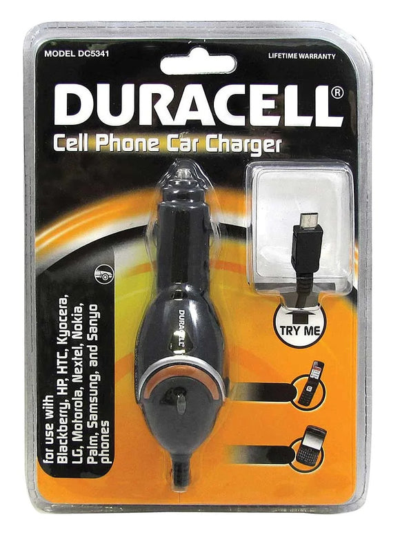 Duracell Cell Phone Car Charger