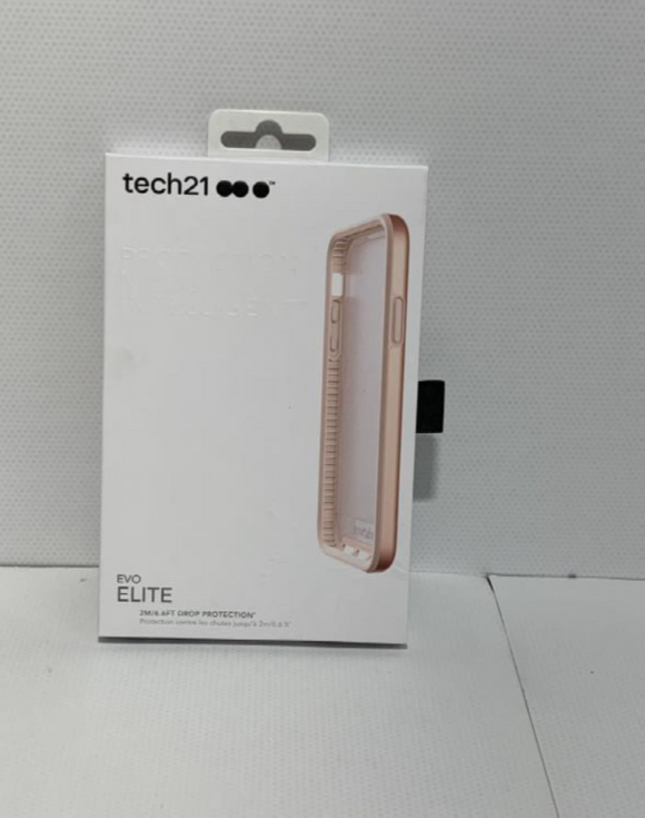TECH 21 Evo Elite Case, IPHONE X- Pink Pearl