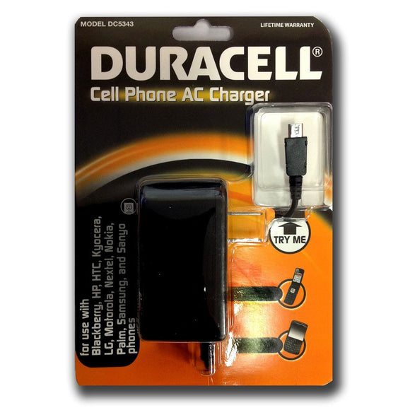 Duracell Cell Phone AC Charger
