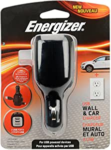Energizer USB Wall & Car Charger