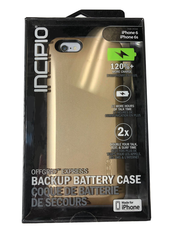 Incipio Battery Backup Case- iPhone 6, 6s