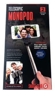 Smart Gear Telescopic Monopod Selfie Stick