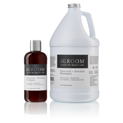 iGroom Charcoal + Keratin Conditioner