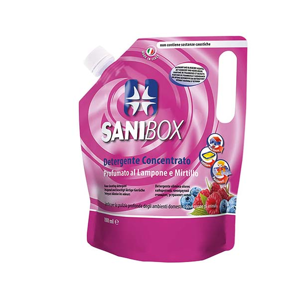 SANIBOX Raspberry Blueberry