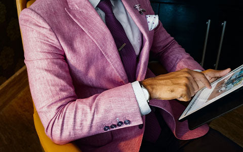Casually Formal – Light -Shade- Blazers -with-Bright- For-mals