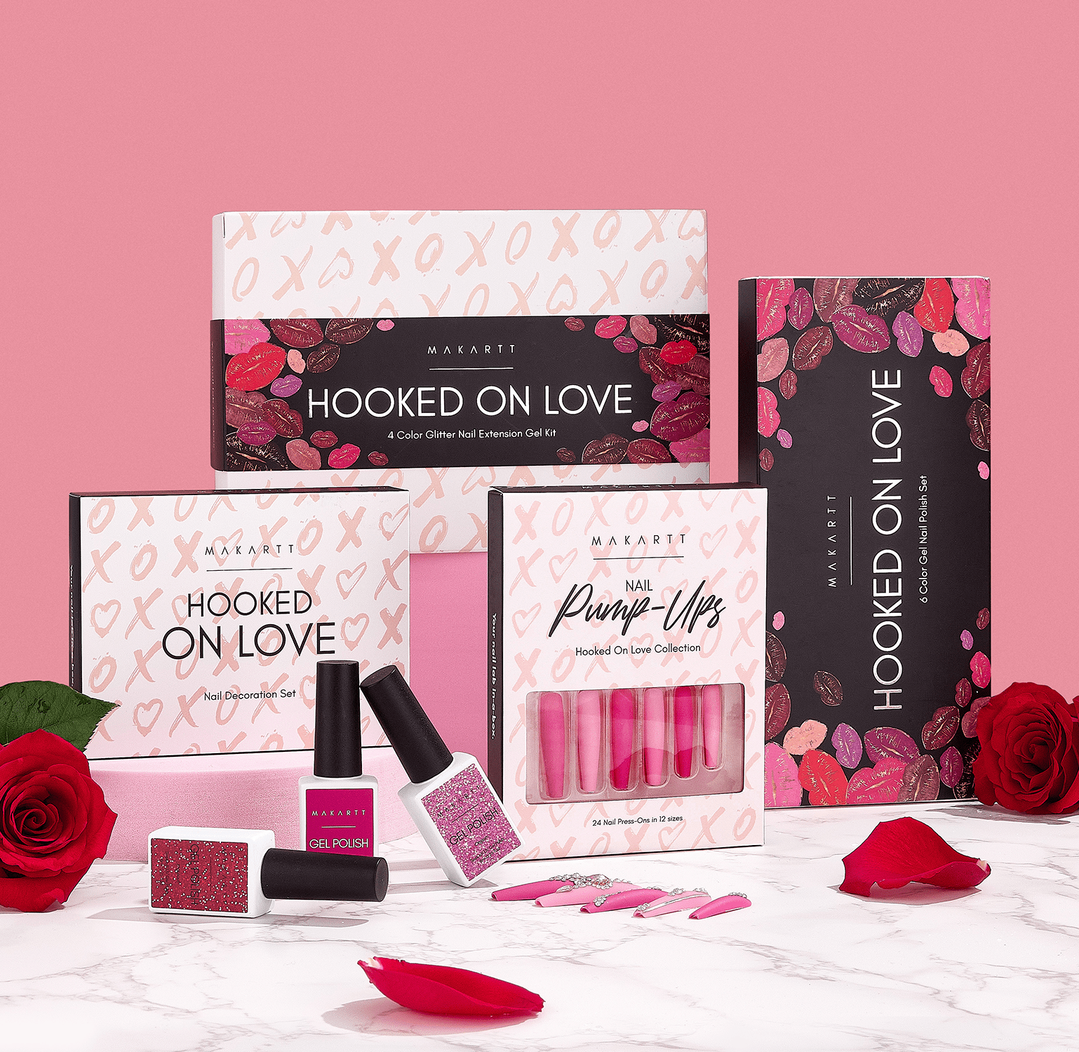 Hooked On Love Valentine's Day Limited Edition Decoration Set