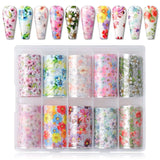 Nail Art Foil Transfer Stickers - Makartt