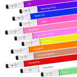 House of Florists 12 Color Poly Nail Extension Gel Kit