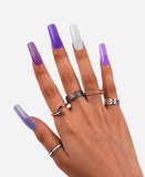 Purple Collection Poly Nail Gel Extension Kit