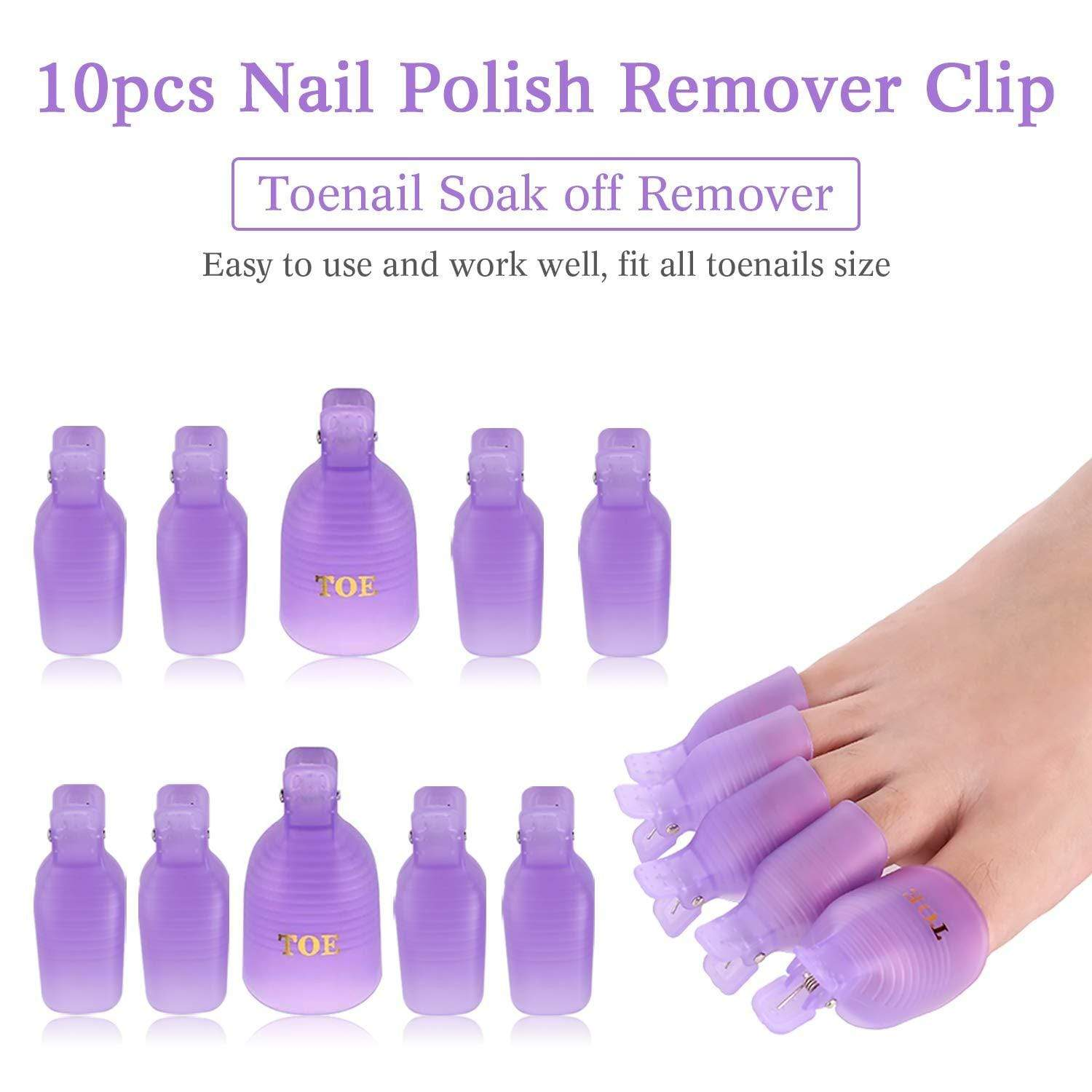 Gel Nail Polish Remover Clips Kit - Makartt