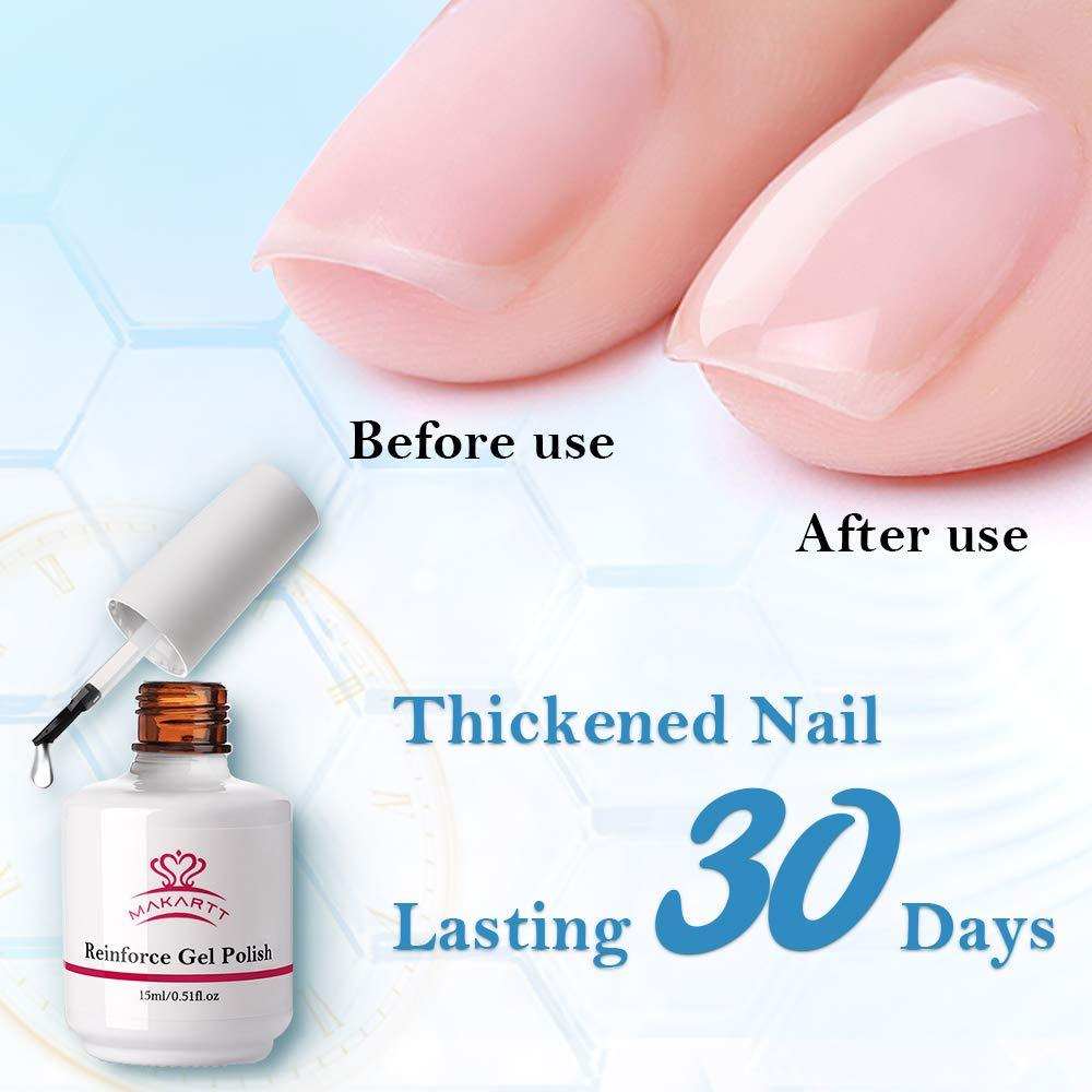 Gel Nail Strengthener Reinforce Polish 15ML P-44 - Makartt