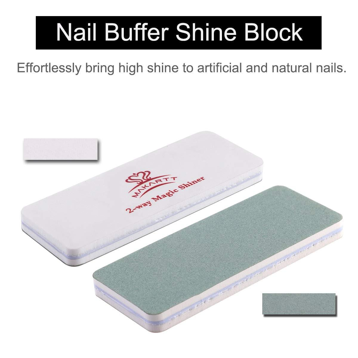 4 Way Nail File Block and Buffer Set - Makartt