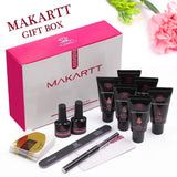 New Formula Poly Nail Extension Gel Kit in Classic Blush (No Slip Solution Needed) - Makartt