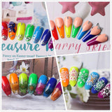 Rainbow Collection Poly Nail Gel Extension Kit - Makartt