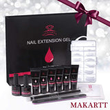 French Collection Poly Nail Gel Extension Kit - Makartt