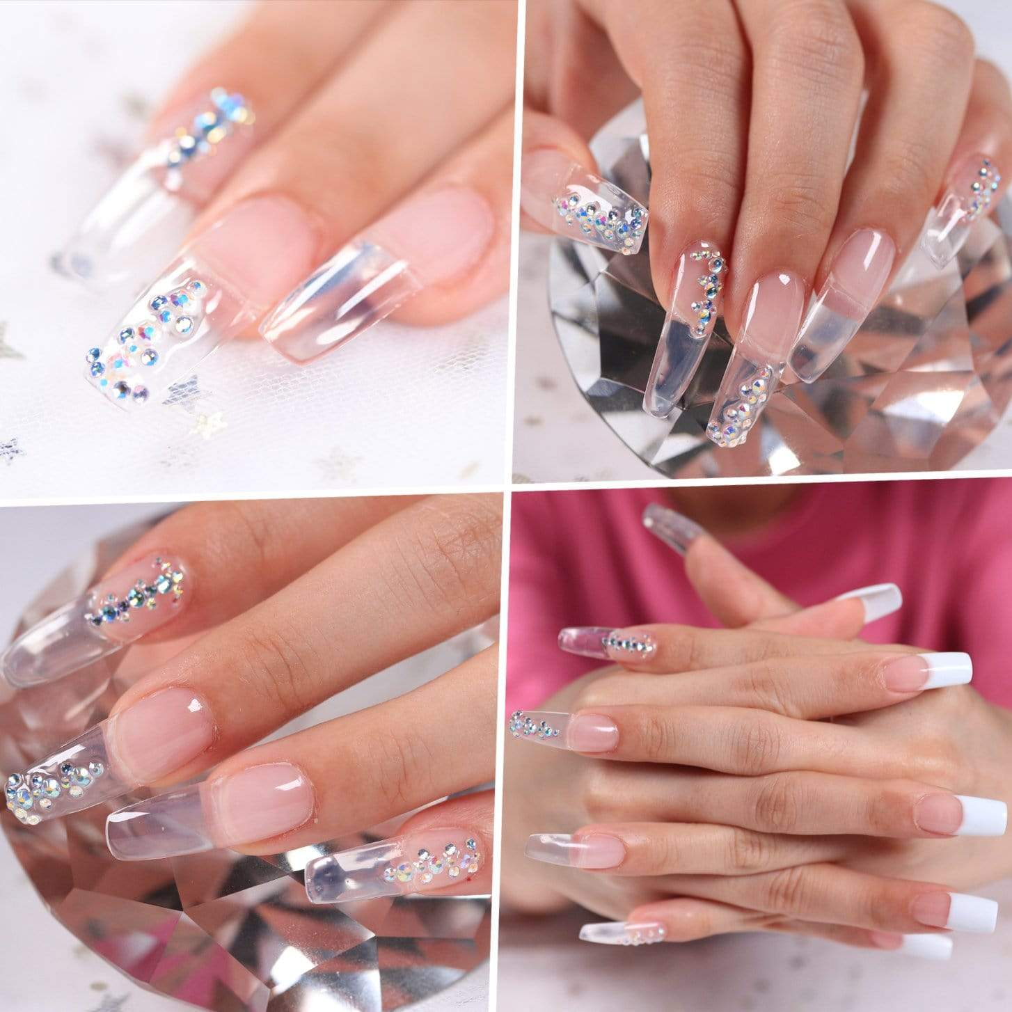 Nail Dual Forms for Polygel 120pcs - Makartt