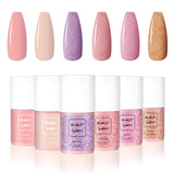 Naked & In Love 6 Color Gel Polish Set