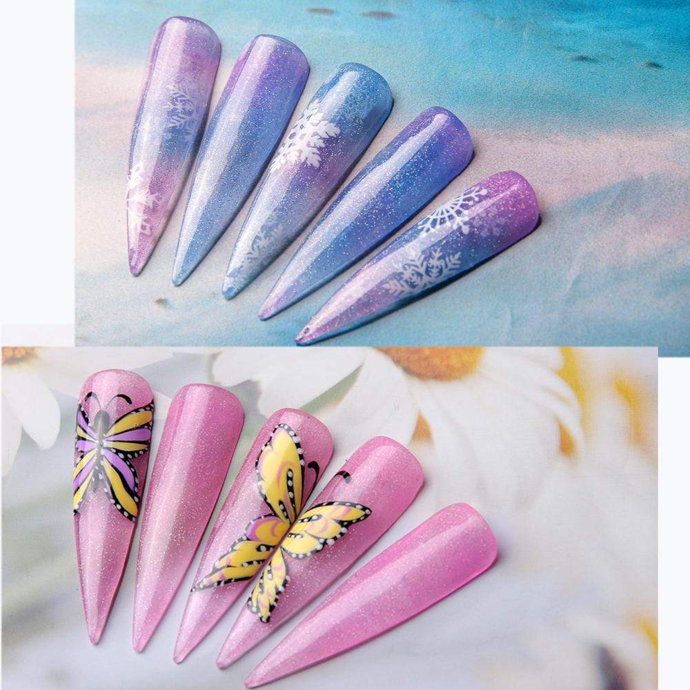 Jelly Glitter Poly Nail Gel Extension Kit - Makartt