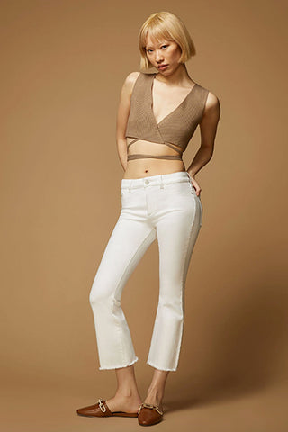 Bridget Crop High Rise Bootcut - Napa