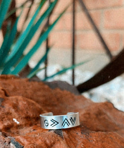 God Is Greater Ring