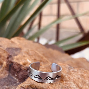 Custom Silver Thin Rings