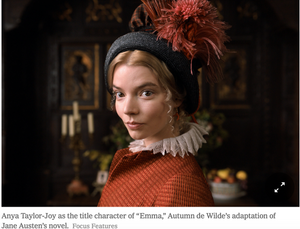"New York Times Reviews New ""Emma"" Movie"