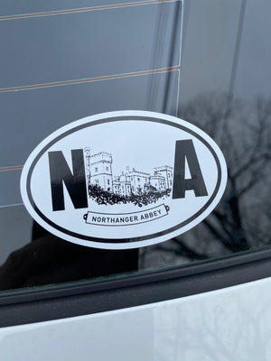 Northanger Abbey sticker