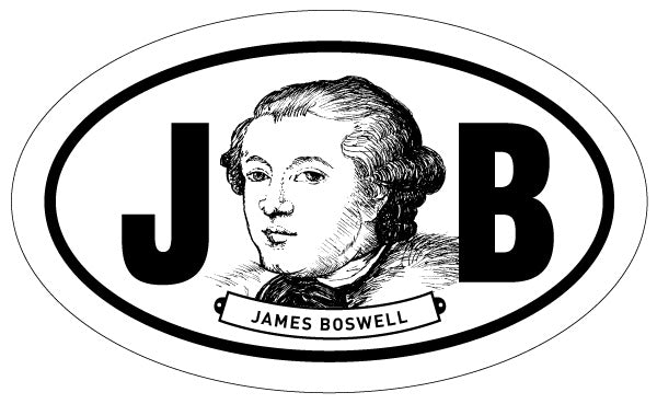 James Boswell 2x3 Sticker