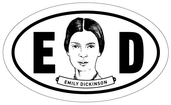 Emily Dickinson 2x3 Sticker