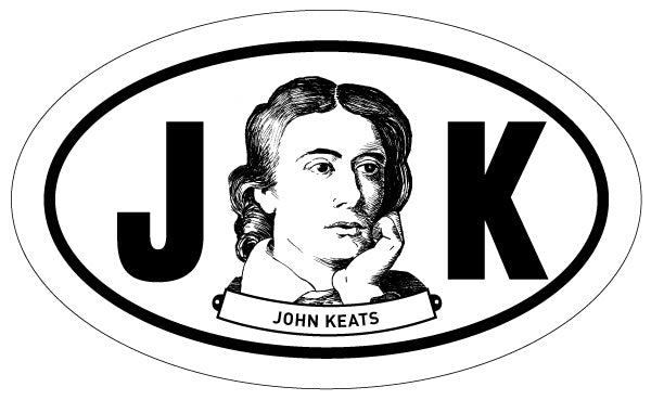 John Keats 2x3 Sticker