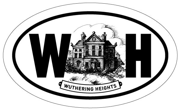 Wuthering Heights 2x3 Sticker