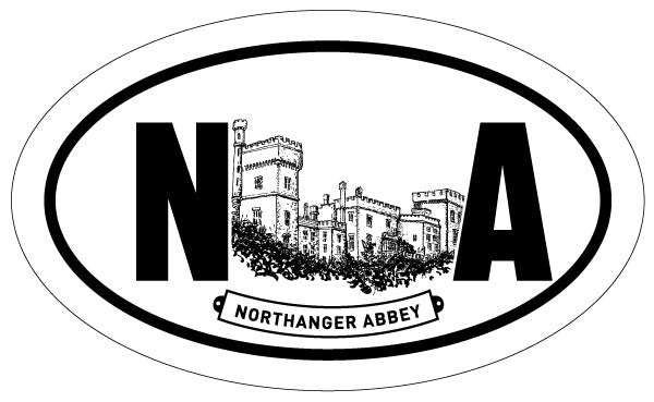 Northanger Abbey 2x3 Sticker