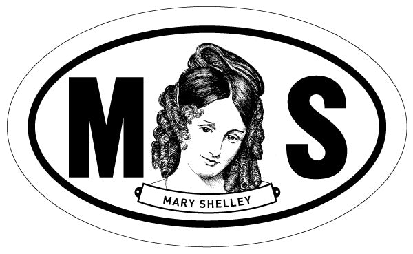 Mary Shelley 2x3 Sticker