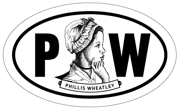 Phillis Wheatley 2x3 Sticker