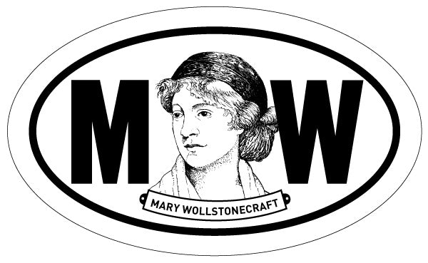 Mary Wollstonecraft 2x3 Sticker
