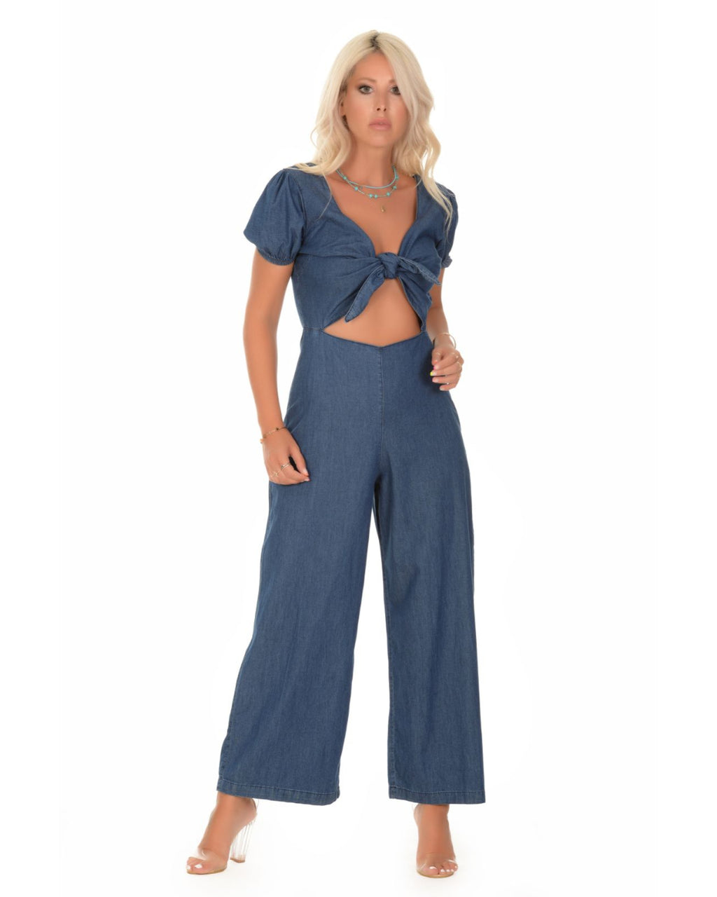 Ana Denim Jumpsuit