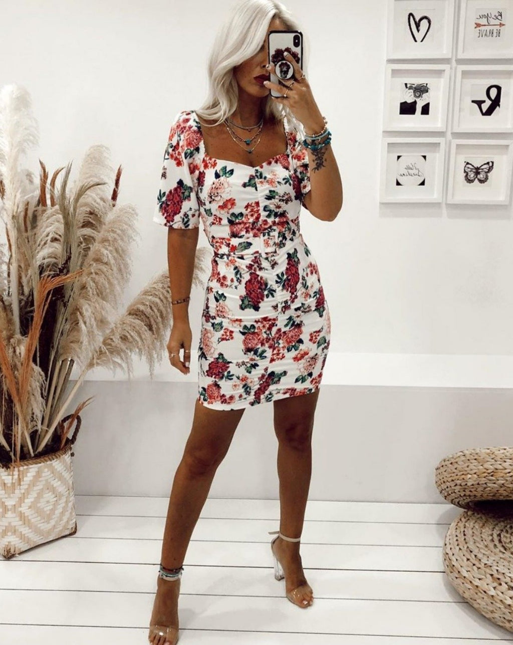 Jessie Floral Mini Dress