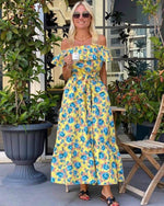 Load image into Gallery viewer, Amie Floral Maxi Dress