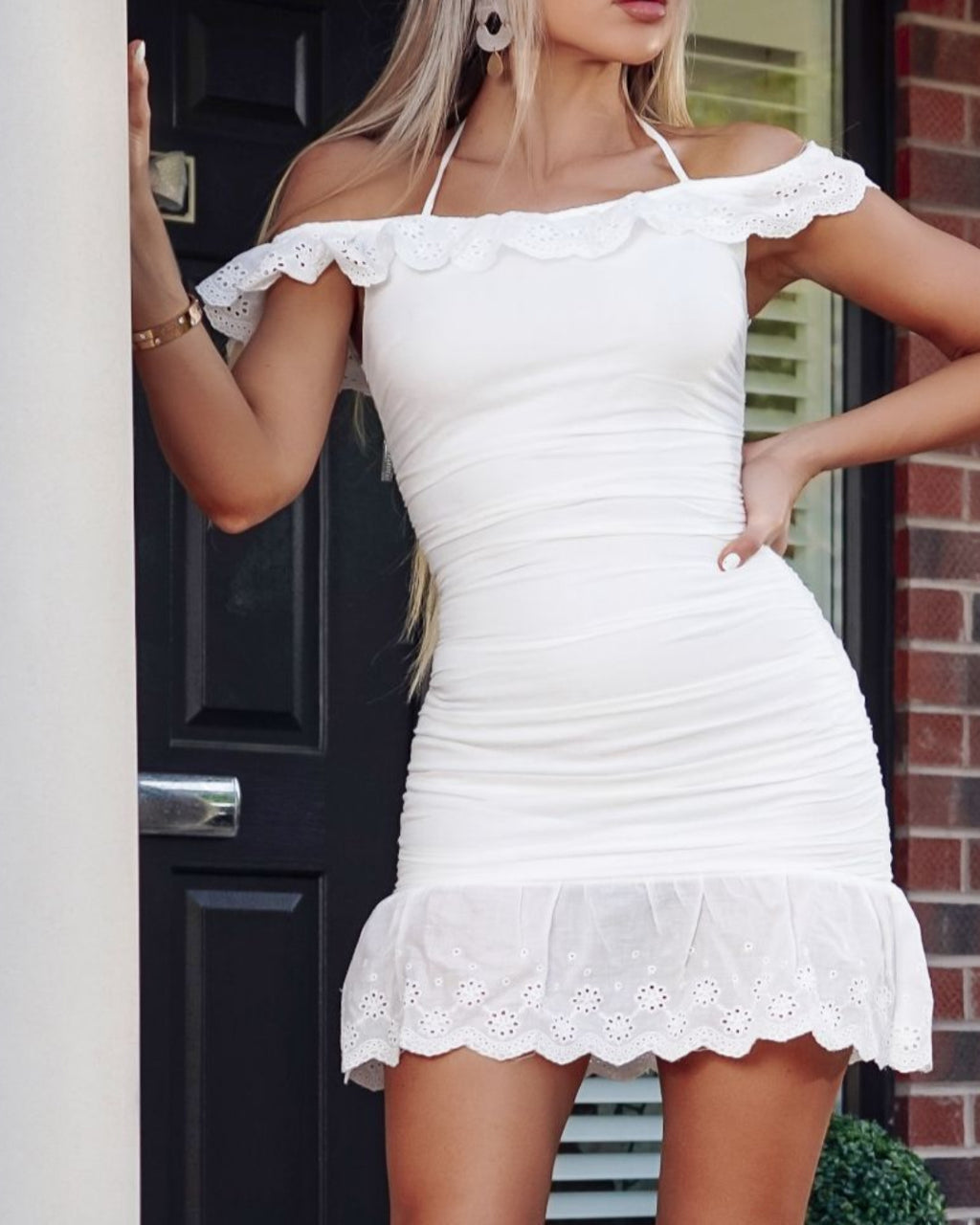 Darcie White Dress