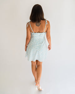 Beach Walks Mini Floral Dress