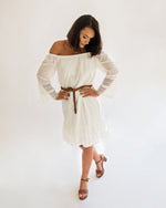Load image into Gallery viewer, Tiana White Dress