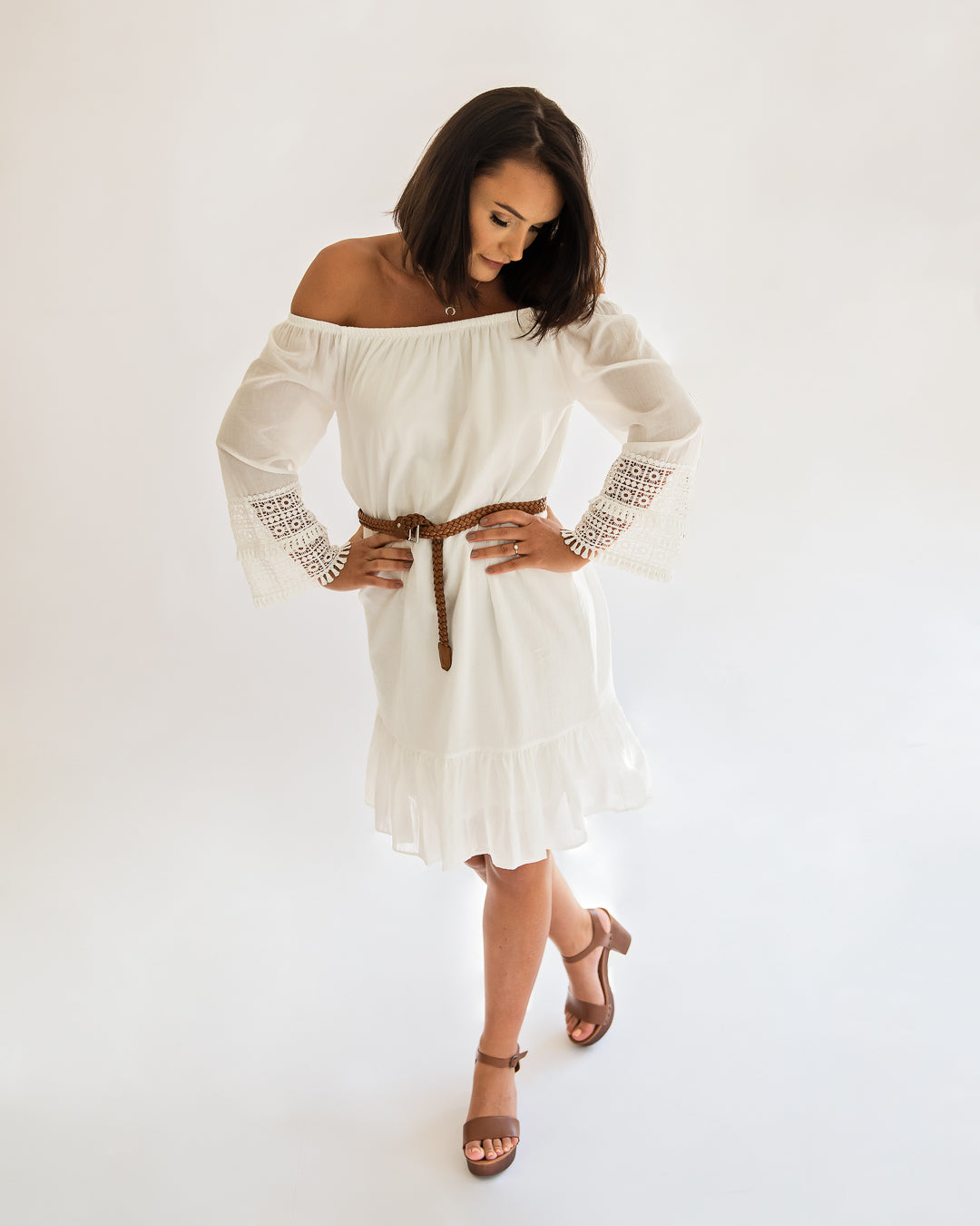 Tiana White Dress