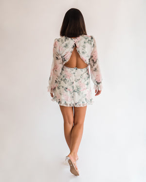Ember Floral Mini Dress