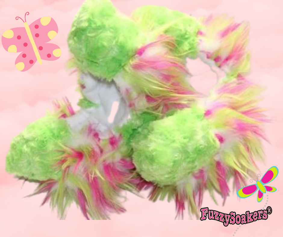 Crazy Fur Pinkie-Lime