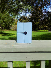 Load image into Gallery viewer, Real Leather: Blue Handmade Notebook