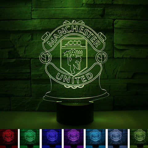 Manchester football club night light 1