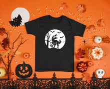 Load image into Gallery viewer, Kids - Trick or Treat Dino Halloween Shirt